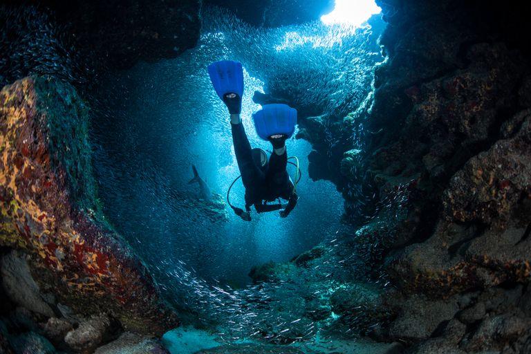 La cueva submarina más profunda del mundo aún no tiene fondo