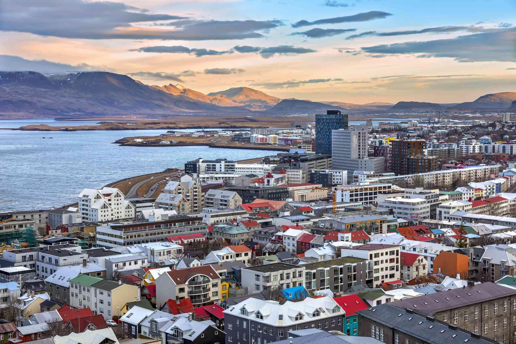 Reykjavik, Iceland skyline