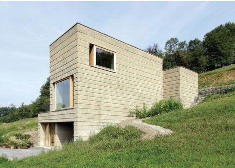 Martin Rauch construye la casa de sus sueños (tierra apisonada, por supuesto)