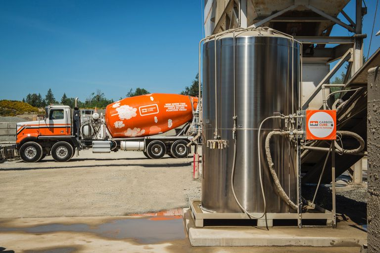 Carbon Cure and Cement Truck