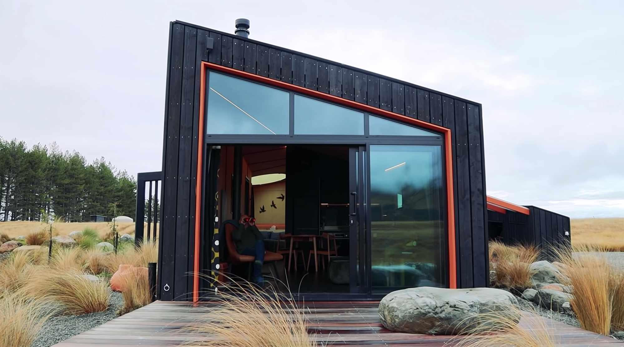 Skylark Cabin by Barry Connor outdoor deck