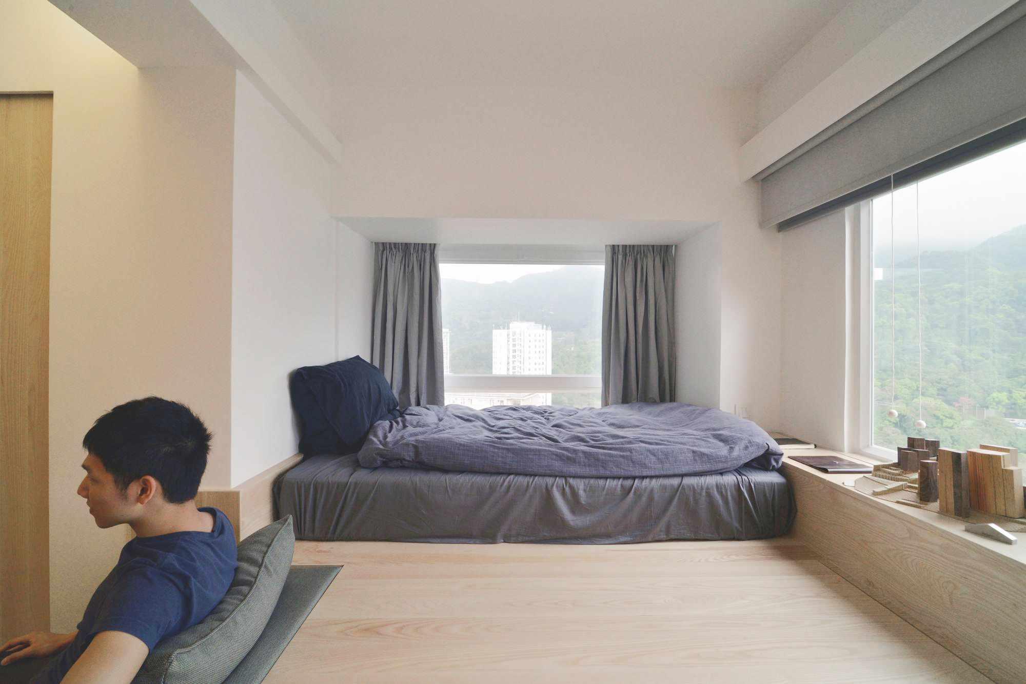 micro apartment renovation Design Eight Five Two sleeping area