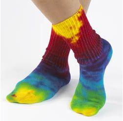 Maggies Multicolor Organic Socks photo