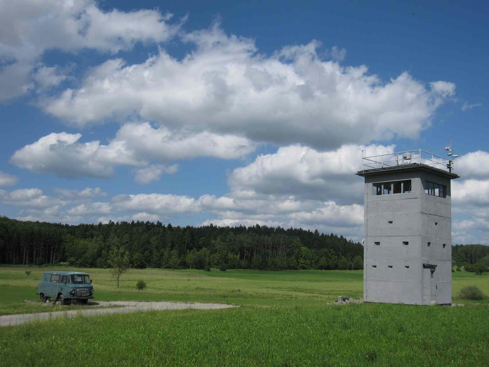Watchtower, Green Belt, Germany