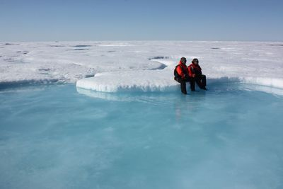 arctic ice photo