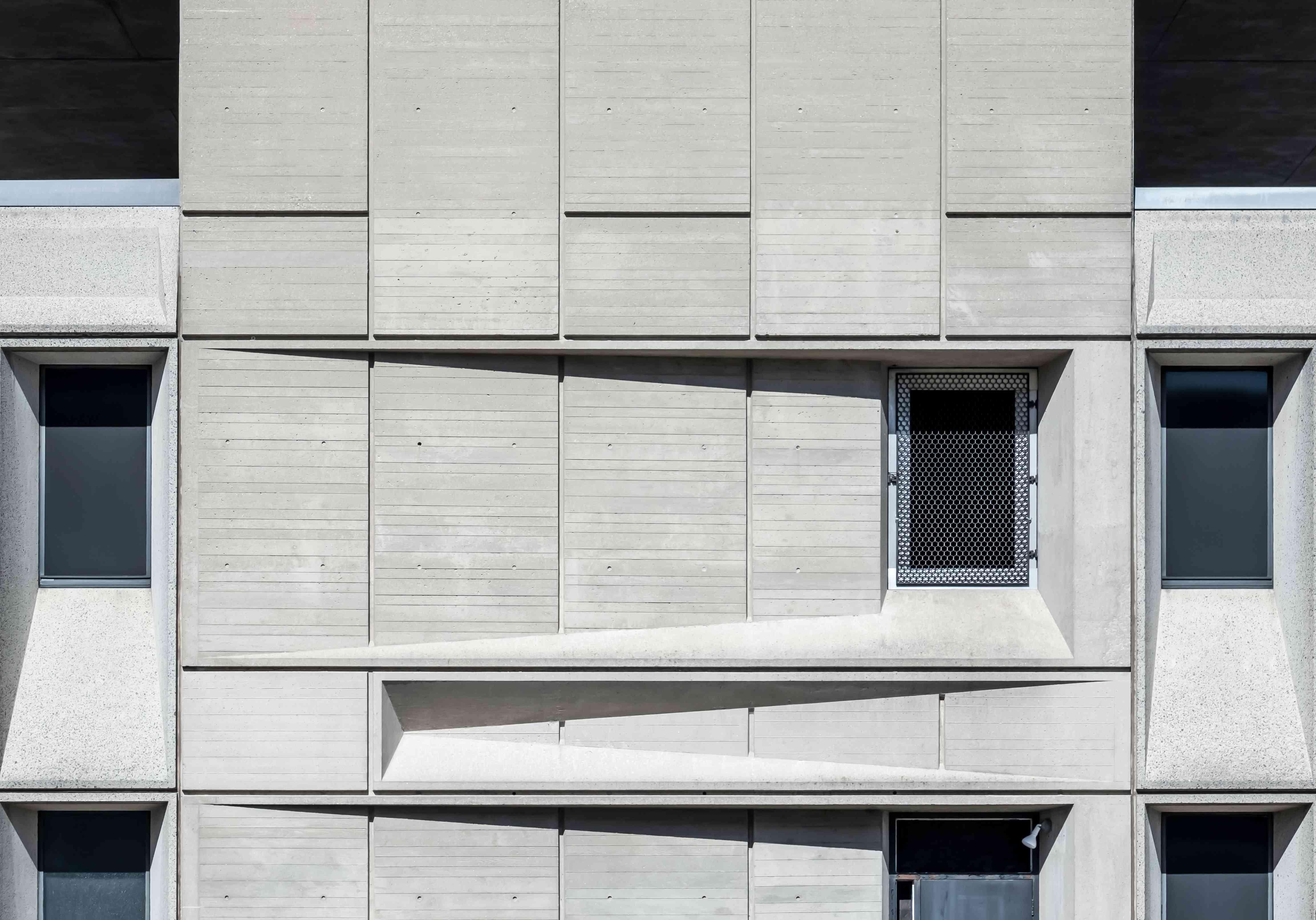 Exterior detail of concrete