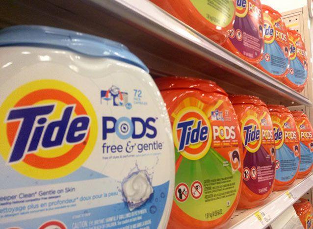 Las normas de seguridad no protegen a los niños de las cápsulas de detergente