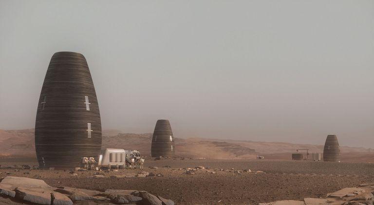 MARSHA es una colonia impresa en 3D en Marte
