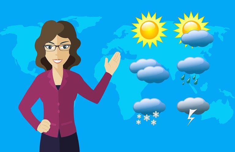 Los reporteros meteorológicos deberían mencionar el cambio climático