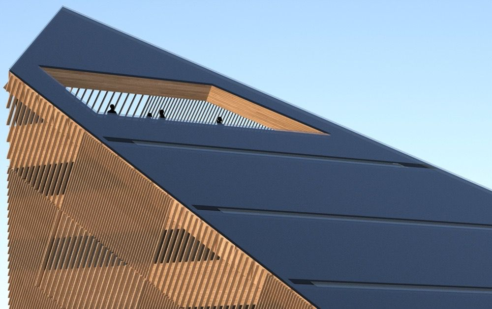 Powerhouse roof