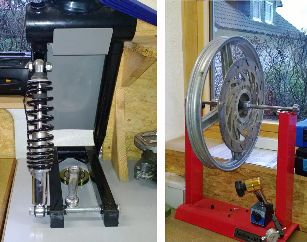 Twike German engineering relies on motorcycle quality parts necessary to fulfill German vehicle inspection standards