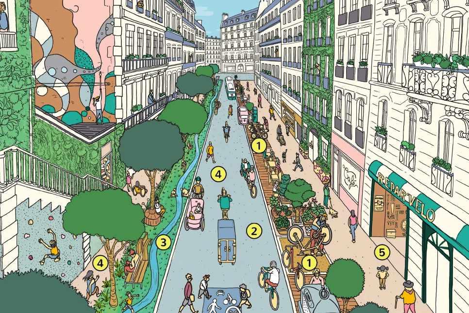 Paris as 15 Minute City