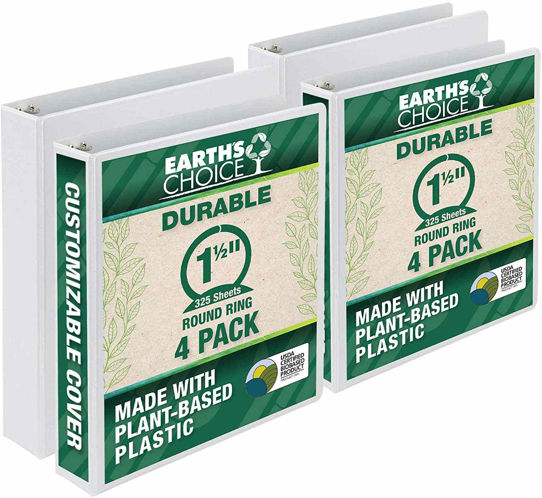 Samsill Earth's Choice Eco-Friendly Binder