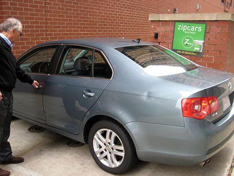 car sharing sedan photo