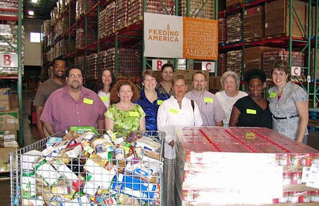 Feeding America food bank
