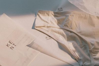 KENT underwear and packaging