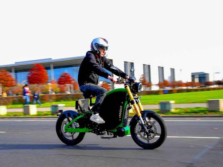 eROCKIT motorbike