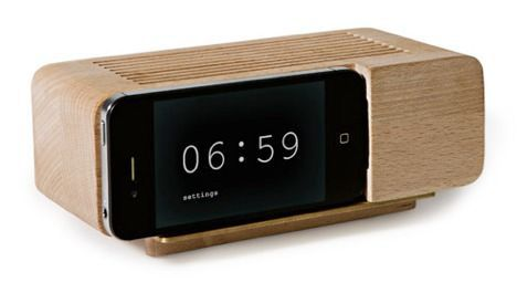 areaware iphone alarm clock image