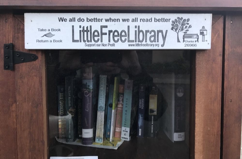 Little Free Library in Toronto