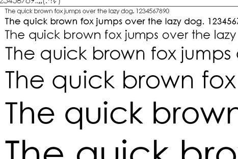 century gothic font saves ink image