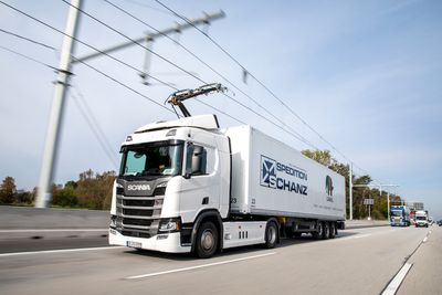 First ehighway in Germany