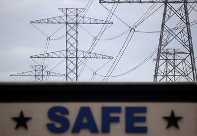 Texas Power lines