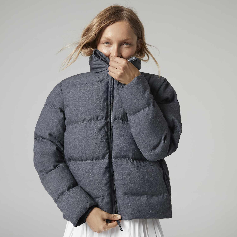 Charcoal Puffer Jacket