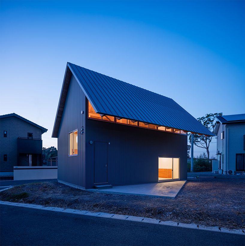 Small Japanese House Really Is All About Eaves