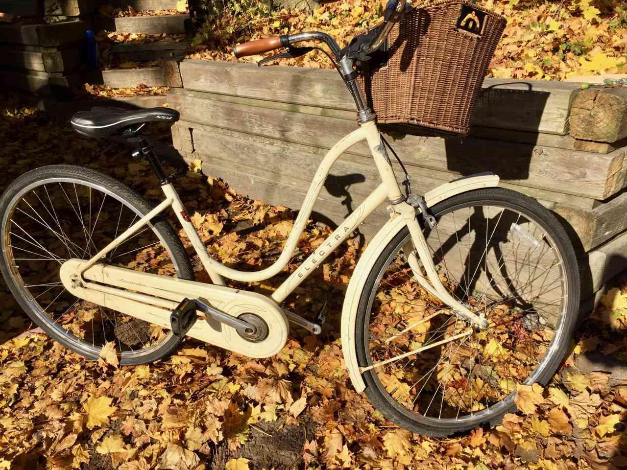 My daughter's Dutch Bike