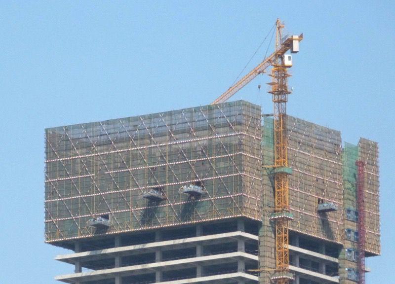 Scaffolding in China