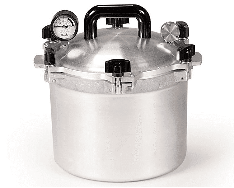 All American 10-1/2-Quart Pressure Cooker Canner