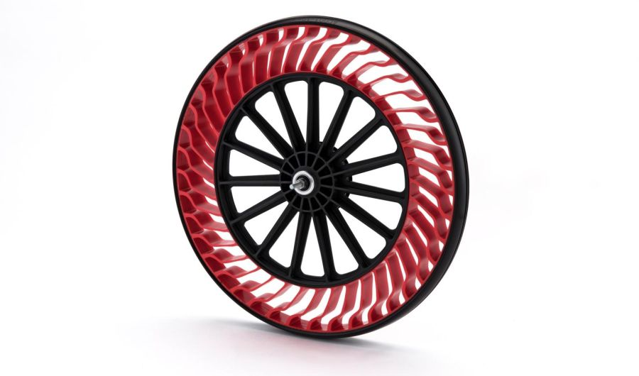 Bridgestone Air Free Concept bike tire