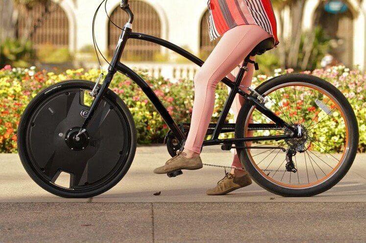 Esta conversión de bicicleta eléctrica sin cita de $ 800 ofrece una velocidad máxima de 20 Mph y un alcance de 30 millas