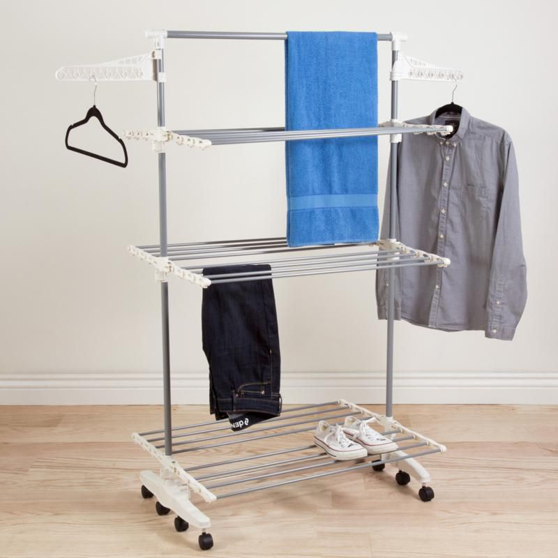 Hastings Home 3-Tier Laundry Drying Rack