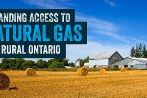 Ontario expanding access to natural gas