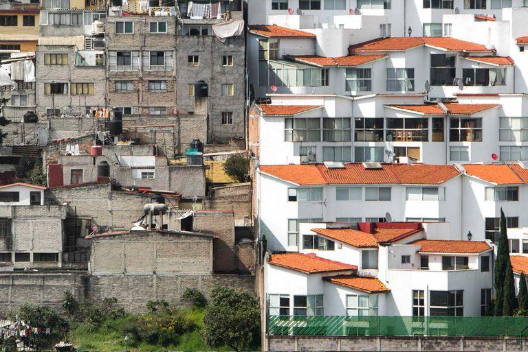 Fotógrafo de drones arroja luz sobre la desigualdad de riqueza desde arriba