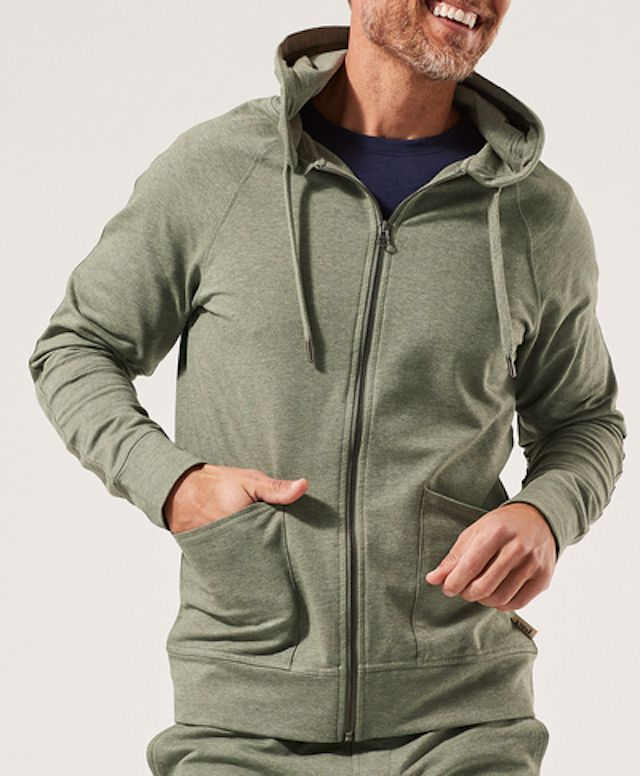 Pact Perfectly Lightweight Zip Hoodie
