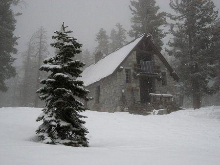 ostrander-hut-snow photo