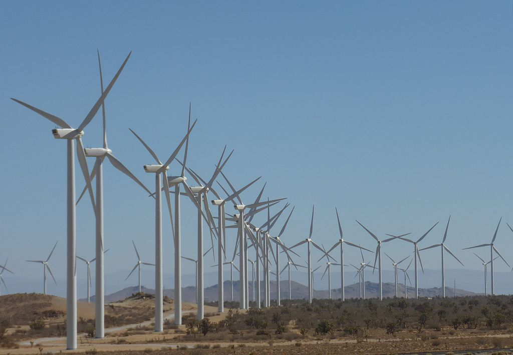 The Alta Wind Energy Centre in Kern County, California