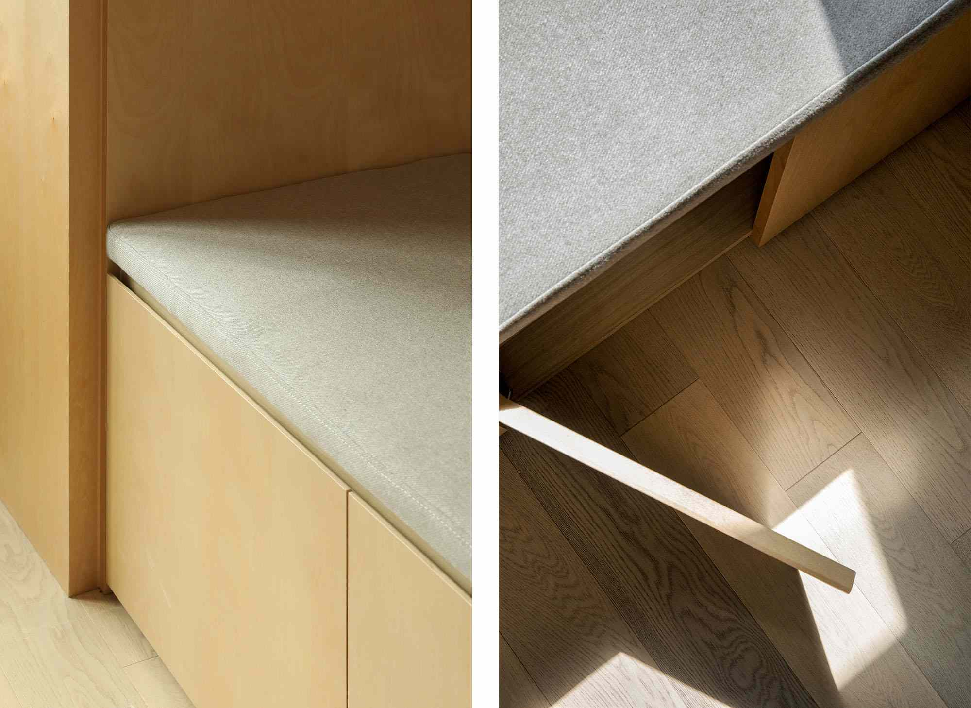 LIFE micro-apartments coliving Ian Lee cabinets