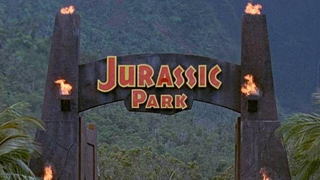 Todo lo que queda de la entrada a 'Jurassic Park'