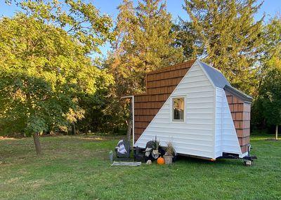 The Mountain tiny house by Comak Tiny Homes exterior