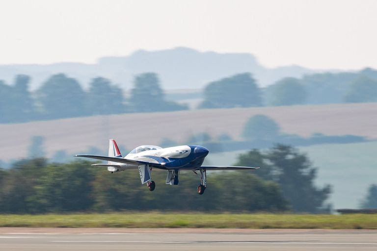 Rolls-Royce's all-electric Spirit of Innovation takes to the skies for the first time