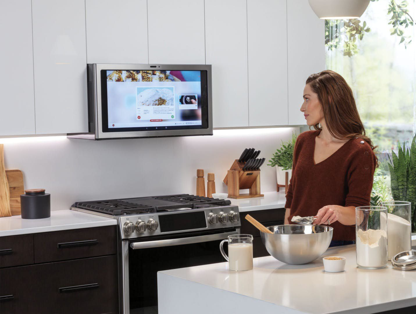 At Ces The Ge Kitchen Hub Is The Stupidest Kitchen Idea Since Well Ever
