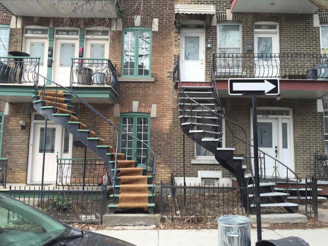 stairs between houses