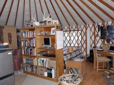 david masters yurt interior photo