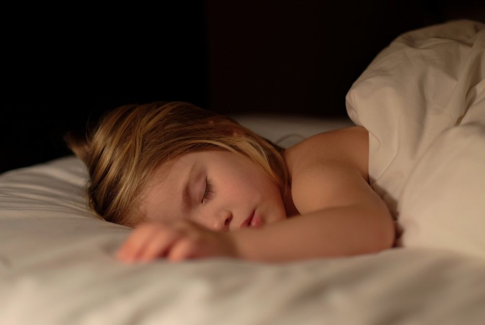 Kids Need Good Sleep as Much as Nutrition and Exercise