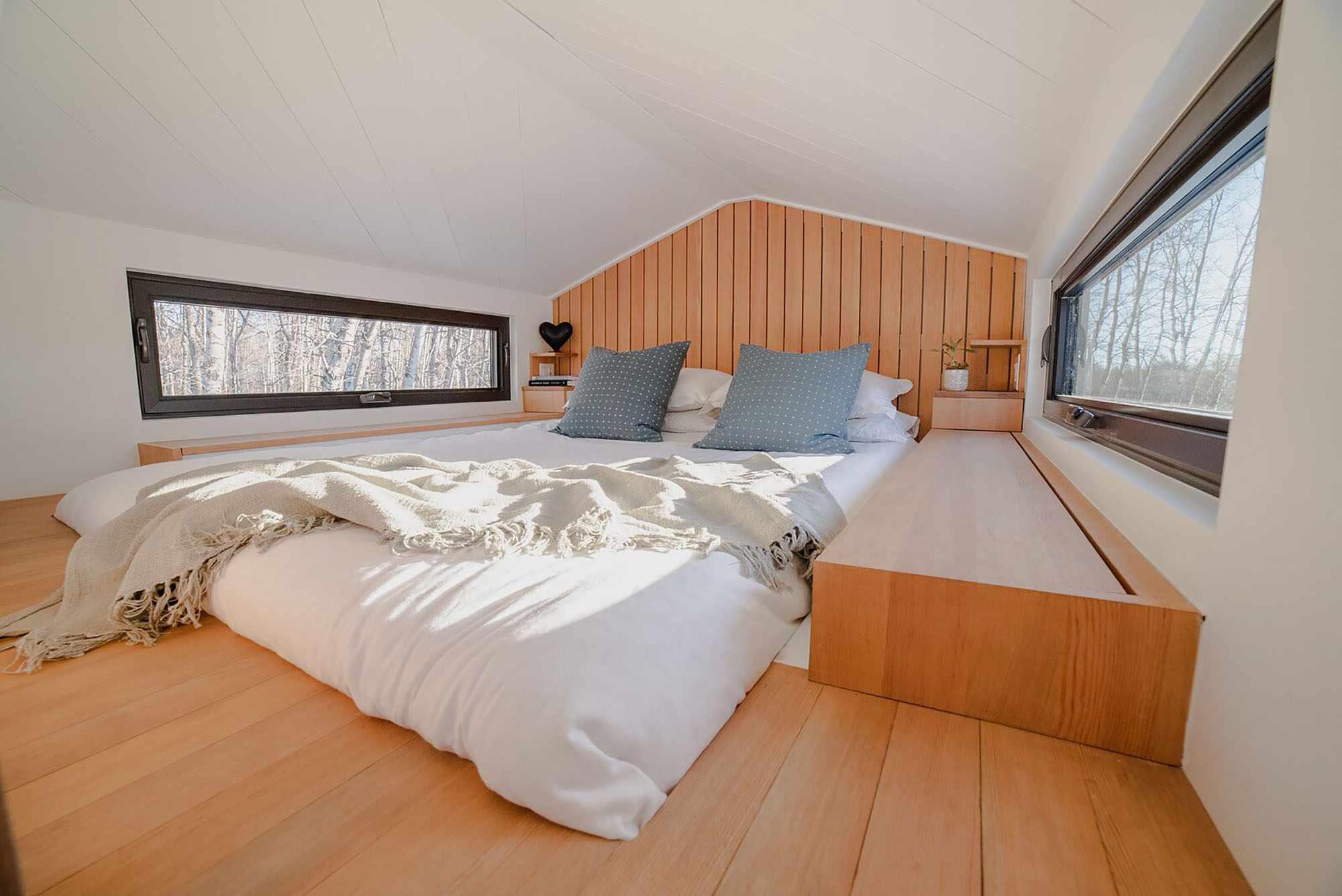Fritz Tiny Homes sleeping loft