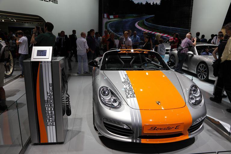 Porsche comienza a probar el Boxster E