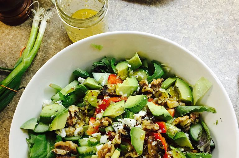 El secreto de una fantástica ensalada verde